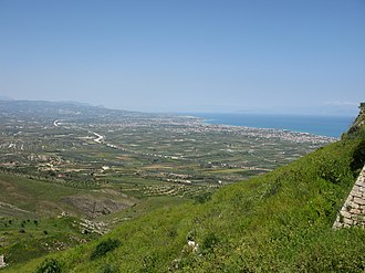 Gulf of Corinth - Gulf of Corinth from Acrocorinth