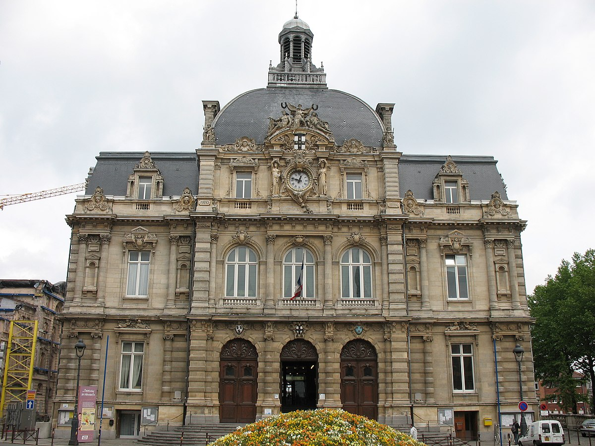 H tel de ville de tourcoing wikip dia for Carte de france hotel