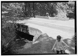 Wahkeena Falls - Image: HAER HCRH OR 36 39