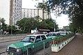 HK 上水 Sheung Shui 彩園路 Choi Yuen Road Estate green taxi stop Sept 2017 IX1 02.jpg