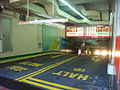 HK TST East Mody Road Empire Centre Car Park Exit Yellow lines n Outback Steakhouse Banner.JPG