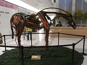 尖沙咀K11購物藝術館商場 Category:Deborah Butterfield - C...