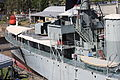 HMAS Diamantina (K377) River class frigate, 1,420 tons, Royal Australian Navy. (14380359511).jpg