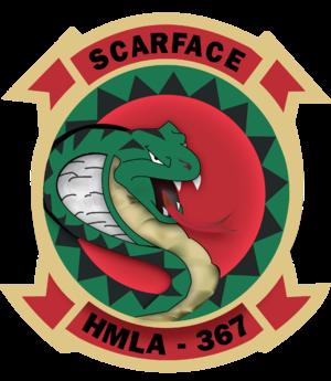 HMLA-367 - Image: HMLA 367 insignia
