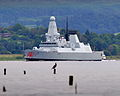 HMS Dragon Leaves the Clyde MOD 45153102.jpg
