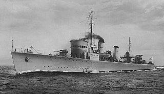 HSwMS <i>Ehrensköld</i> (11) Swedish destroyer