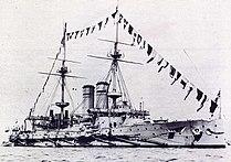 HMS Montagu (1901) Dressed Overall.jpg