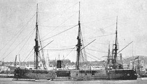 Sydney Eardley-Wilmot - HMS Pallas, where Eardley-Wilmot was a gunnery lieutenant.