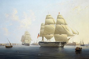 HMS Queen, by Robert Strickland Thomas.jpg