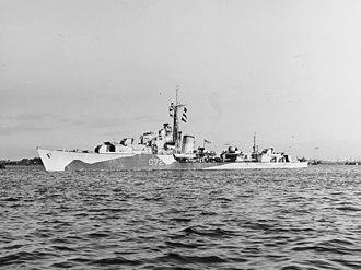 HMS Scorpion (G72) - Image: HMS Scorpion (G72) in June 1944