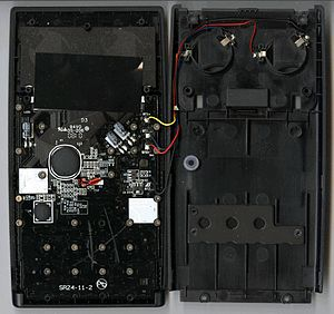 HP 35s - Internal view