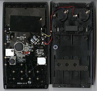 HP 35s - Internal view