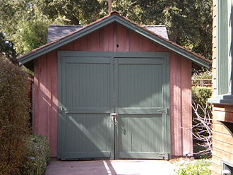 Hewlett-Packard - The garage in Palo Alto where Hewlett and Packard began their company