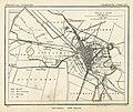 HUA-212042-Kaart van de gemeente Utrecht met weergave van een gedeelte van het stratenplan wegen spoorlijnen watergangen en forten en aanduiding van landhuizen e.jpg