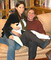 Haley Paige, Evan Stone on Set With Da Vinci Load 1.jpg