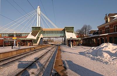 Järnvägsstationen i Hallsberg