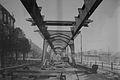 Hamburg Bau des Hochbahnviadukt Innoncentiastraße Klosterallee 1909.jpg