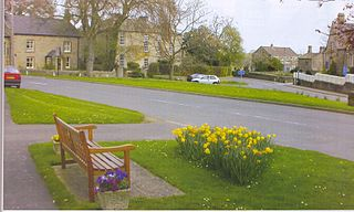 Hampsthwaite village in United Kingdom
