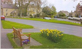Hampsthwaite - Image: Hampsthwaite Village Green