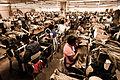Handmade cigar production, process. Shopfloor of Tabacalera de Garcia Factory. Casa de Campo, La Romana, Dominican Republic.jpg