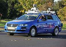 automatic driverless car