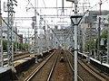 Hankyu Kasuganomichi Station platform - panoramio (8).jpg