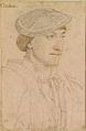 Hans Holbein the Younger - Edward Fiennes de Clinton, 9th Lord Clinton, 1st Earl of Lincoln RL 12198.jpg