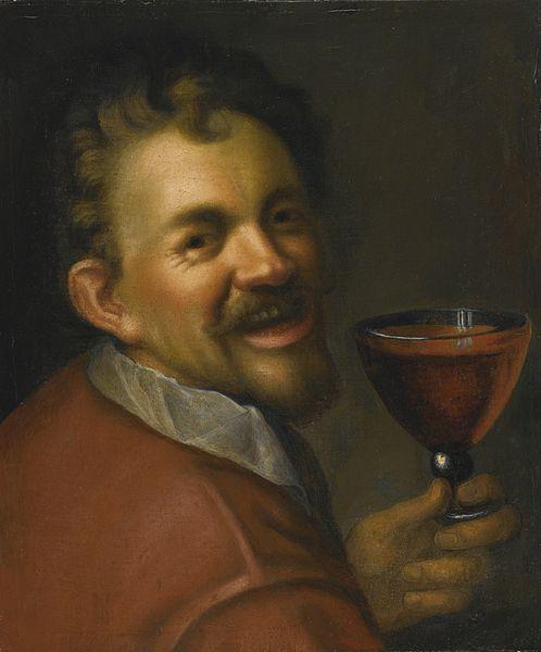 File:Hans von Aachen Self-portrait with a Glass of Wine.jpg