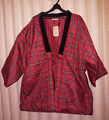 Japanese kimono 220px-Hanten-red-2009