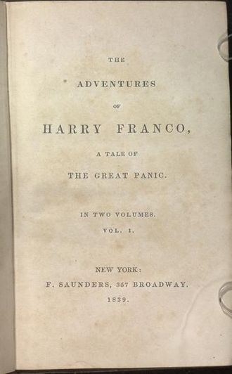 Charles Frederick Briggs - The Adventures of Harry Franco