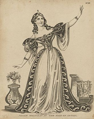 The Maid of Artois - Maria Malibran, the first singer of the title role for whom Balfe wrote the opera