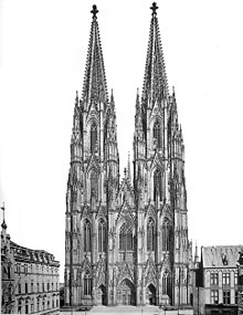 Cathedral dating from 1880