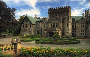Hatley Park National Historic Site - Hatley Castle, August 2009
