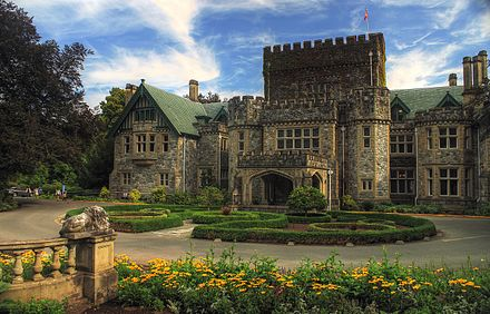 Royal Roads University is one of three universities in Greater Victoria. Hatley Castle BC.jpg