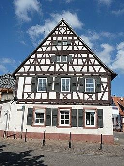 Marktstraße in Billigheim-Ingenheim