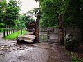 Haustiergarten Eingang Wildpark Alte Fasanerie Klein-Auheim Juni 2012.JPG