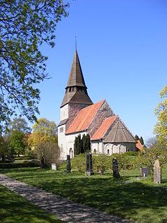 Havdhem Place in Gotland, Sweden