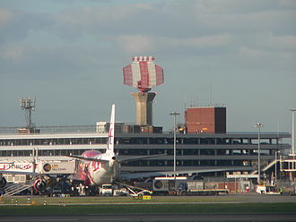 Radar configurations and types - Air traffic control radar at London Heathrow Airport