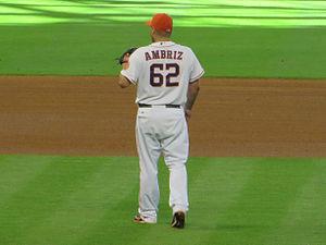 Héctor Ambriz - Ambriz with the Houston Astros