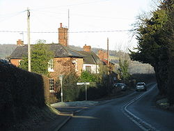 Heightington Lane junction, Dunley.jpg