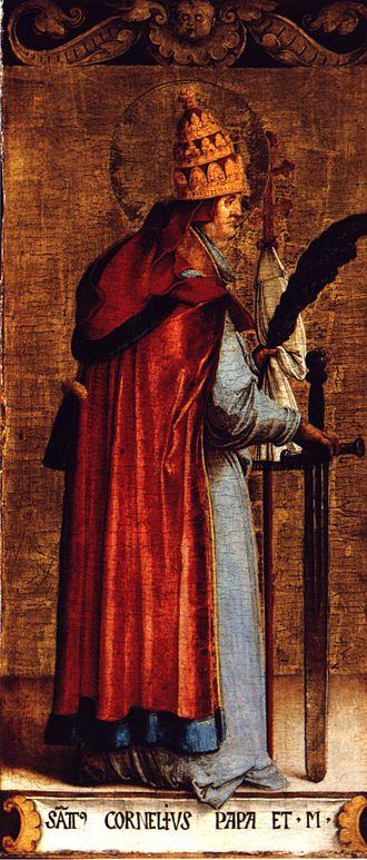 Pope Cornelius - Pope Cornelius by Master of Meßkirch (Staatsgalerie Stuttgart)