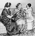 Helen Keller wearing a sari in Bombay.jpg