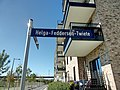 Helga-Feddersen-Twiete in HH-Altona-Nord Straßenschild.jpg