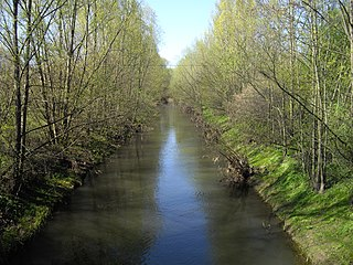 Helme river in Germany