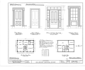 Henry Russell House, Old Hoyt Road, Rochester, Racine County, WI HABS WIS,51-ROCH.V,1- (sheet 1 of 3).png