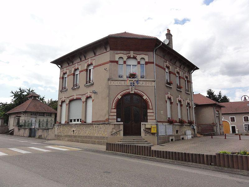 Herbéviller (M-et-M) mairie - école