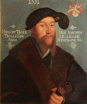 Northern Seven Years' War - Herluf Trolle in 1551