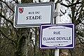 Hesperange. Rue du Stade (Rue Eliane Deville).jpg