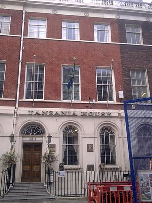 High Commission of Tanzania, London - Image: High Commission of Tanzania in London 2