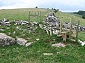 Hill top above Greenlow Farm - geograph.org.uk - 1529653.jpg